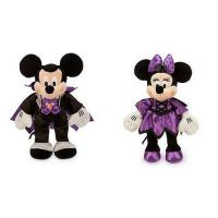 Quality Purple Halloween's Day Minnie Mouse and Mickey Disney Plush Toys For  Pets Party  Festival for sale
