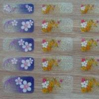Quality Fashionable 3-D Nail Stickers, RoHs and EN71 Certified for sale