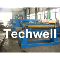 Quality 380V / 50Hz / 3Ph 30KW Simple Slitting Line For Slitting Coil Into 12 strips for sale