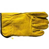 China No Lining Short Sheepskin Beekeeping Gloves Abrasion Resistant without Sleeve on sale