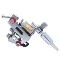 Quality 10 wrap coils mini tattoo machine for lining and shading for sale