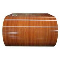 Quality PE Wood Grain PPGL Coil SGLC440 JIS G3322 Thickness 0.13 -1.1mm RAL Code for sale