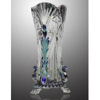 Quality high quality enamel home decoration  crystal vase for sale