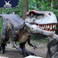 Buy cheap Zoo Equipement Realistic Dinosaur Models Handmade Customizable Size from wholesalers