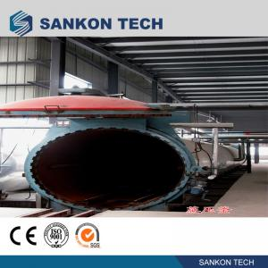 Quality Working Pressure 1.6MPa Autoclave AAC Block Plant Machinery for sale