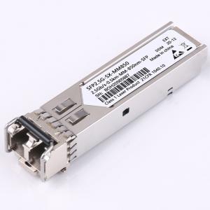 Quality 2.5G SFP DDM Fiber Transceiver Module Compatible 850nm 1310nm 1550nm for sale