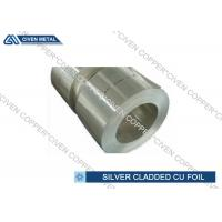 Quality Cu & Ag | Silver on copper Foil Sheets For HF and Decorating Usage for sale