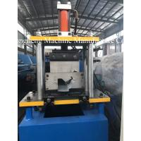 Quality Metal Suqare Gutter Roll Forming Machine With 11.5kw Motor And PLC Control For 0.6mm Thickness Metal for sale