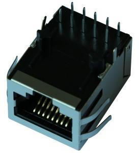 Quality RJ-001TC1 Single 10/100 BASE-TX Filtered Connector Module LPJ4126CNL RoHS for sale