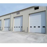 Quality Galvanized Steel Sectional Garage Doors , Commercial Sectional Doors 420mm-530mm Width for sale