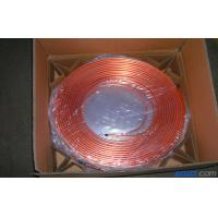 Buy T2 Split Air Conditioner Coil , Oval Mill Polished Copper Pipe Coil H60 at wholesale prices