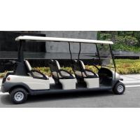 Quality Comfortable Electric 6 Passenger Golf Carts For Mountain Energy Saving for sale