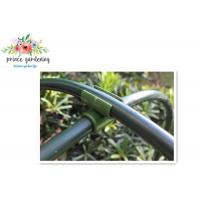 Quality Heavy Duty Green Flower Garden Plant Supports Stake With Plastic Coated for sale