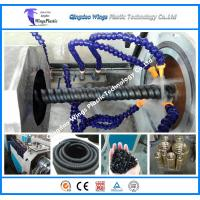 Quality New style PE carbon spiral duct tube extrusion line / extruder machine for sale