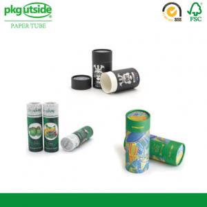 Cylinder Food Packaging Tubes 100% Eco Kraft Well - Sealing Damp - Proof