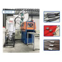 Waxed Cotton Rope Plastic Injection Moulding Machine With Hot Stamping / Crusher