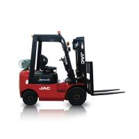 Quality JAC Gasoline Forklift Truck 1.5 Ton Lifting Capacity 3m - 6m Lift Height for sale