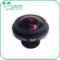 Quality HD 5MP 1.7mm 1/2.5'' F2.0 Dome Camera Lens 185° Wide Angel  For Glass Dome CCTV Camera for sale
