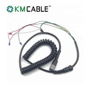 Quality Hydraulic Scissor Lift Joystick Cable 1 - 26 Cores M12 5 Pin End Parts for sale