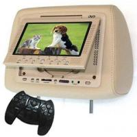 Quality BEIGE 2x9 Inch Headrest Car DVD Player with SD, USB for sale