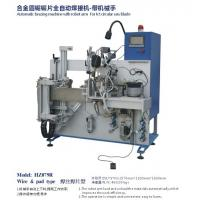 Quality Automatic brazing machine for TCT saw blade with Robot for sale