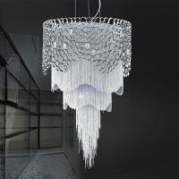Quality Decorative chain for light fixtures chandelier lamp with Lampshade Sliver Color (WH-CC-15) for sale