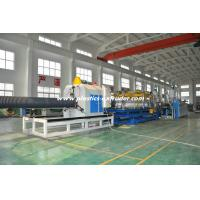Quality 32 - 60 mm diameter HDPE Double Wall Corrugated Pipe Extruder / Production Line for sale