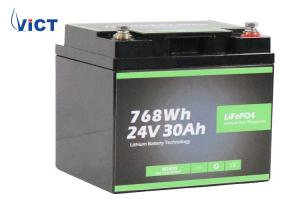 Quality Lithium Ion Battery Lifepo4 Battery Pack 24v 30ah for Golf Cart , Golf car for sale