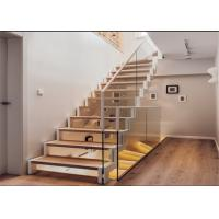 Quality Modern hot-sale wrought iron straight staircase high quality staircase for you for sale