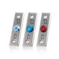Quality Stainless Steel Access Control Exit Button Push Button Exit Switch With LED for sale