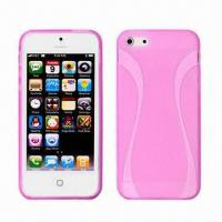 Quality Cellphone Cases for iPhone 5, Made of TPU, Thin Waists Hard Cases, Various Colors Available for sale