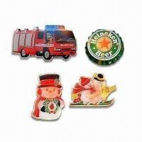 Quality Customized Flashing Emblem Pins, Ideal for Promotional Items for sale