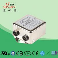 Quality Single Phase Low Pass EMI Filter / Power Line RFI Filter Metal Case for sale