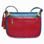 Quality Adjustable Fashion Handmade Leather Handbags Sling Bag For Students Teenagers for sale