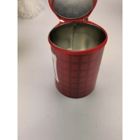Buy cheap EN71 Light Proof D130mm Cylinder Tin Box With Zipper Closure from wholesalers