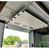 Quality 50mm~80mm Thickness Insulated Sectional Garage Door , Commercial Sectional Doors for sale