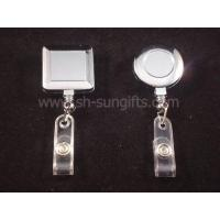 Quality Electro-plating badge reel, retractable reel, retractable badge reel, promotional gift for sale