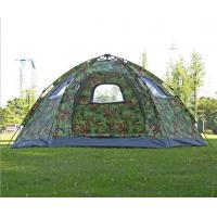 Quality 5 to 8 Person Family Camping Tent Camouflage Woodland Camping Tent Easy Setup Instant Pop up Tent(HT6051) for sale