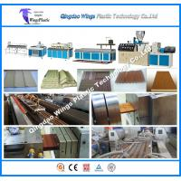 Quality Low Energy Consumption WPC Profile Production Line WPC Extrusion Machine for Fence for sale