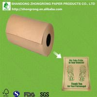 Quality poly coated brown kraft paper for car floor mat for sale