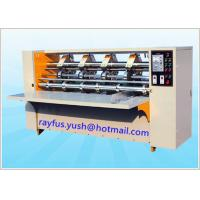 Quality Electrical Adjust Thin Blade Slitter Scorer Machine Auto Sharpen Safe Cover for sale