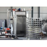 Quality 12KW Automatic Food Processing Machines / Sausage Stainless Steel Smokehouse for sale