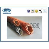 Quality Steel Extruded Spiral Fin Tube Economizer For Heat Transfer / Air Cooler for sale