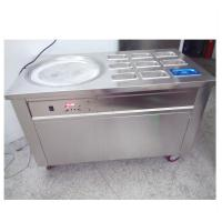 Quality Easy Operation Thailand Ice Cream Rolls Machine For Restaurant / Coffee Shop for sale