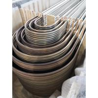 Quality TP304L Material U Bend Tubes For Heat Exchanger ASTM A213 / SA213-2013 for sale