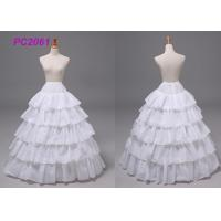 Quality White Polyester Wedding Gown Accessories Petticoats For Bridal Wedding Dress for sale