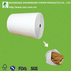 greaseproof PE coated bleached kraft paper for food packaging