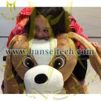 Quality Hansel Coin Operated Motorized Bicycle Led Animal Motorized Animals for sale