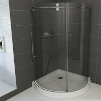 Buy cheap Frameless Round Sliding Shower Enclosure with 10mm Clear Glass and Stainless from wholesalers
