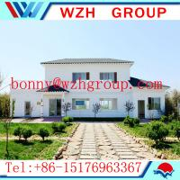 Quality Prefab light steel villa house / easy assemble prefab house made in China for sale
